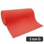 3 Mm Cobertura Vermelho Perfurado g (530 x 31 Cm)