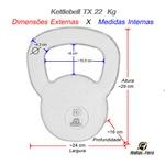 Kettlebell Tx - 22 Kg