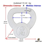 Kettlebell Tx - 4 Kg