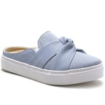 Slip On Mule Feminino Forli Jeans Nó Any Shoes