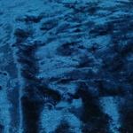 Tecido Veludo Molhado Azul Petróleo 1m