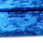 Tecido Veludo Molhado Azul BIQ 1m