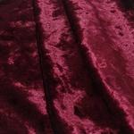 Tecido Veludo Molhado Bordô 1m