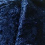 Tecido Veludo Molhado Azul Marinho 1m