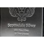 Scottsdale Stacker® 10 oz Silver Bar