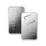 Valcambi 100 g Minted Silver bar
