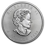 1 oz 2020 Canadian Silver Maple Leaf