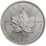 1 oz 2014 Canadian Silver Maple Leaf