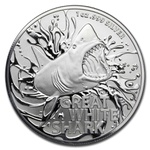 2021 Australian Great White Shark Silver Coin – 1 oz