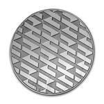 """Silver – 1 oz Asahi """"Logo"""" Round"""