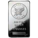 10 oz Sunshine Mint Silver Bar