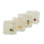 Set guardanapo de coquetel Fruit
