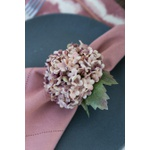 Porta guardanapo Hortênsia rosa antigo