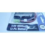 Bateria Lithium Polimero (LIPO) 7.4v-20c-1000mah-1s