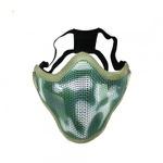 Mascara Proteção Airsoft - Tela de Metal - Meia Face