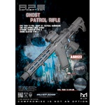 RIFLE DE AIRSOFT ELETRICO APS ASR M4 ASR122-FULL METAL