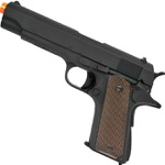 Pistola Airsoft Elétrica CYMA AEP 1911 CM123 Black
