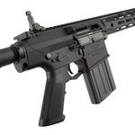 Rifle de airsoft G&G AEG SR25 E2 APC M-LOK BLACK