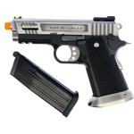 PISTOLA DE AIRSOFT GBB WE Hi-Capa Force 3.8 Velociraptor SV