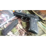 PISTOLA DE AIRSOFT KJW M9A1 FULL METAL GREEN GAS BLOWBACK