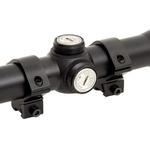 LUNETA 4X32 com suporte 11mm Crosshair