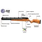 Carabina de Pressão Rossi R8-Bomba PCP Rossi 2020