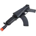 AEG RIFLE DE AIRSOFT ELETRICO AK47 CQB FULL METAL SRL107