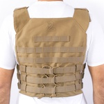 Colete Tático BRFORCE Plate Carrier Gladiator Coyote