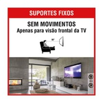 SUPORTE TV UNIVERSAL LCD/LED 10 A 71 POLEGADAS
