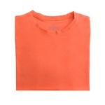 Camiseta Ultra Slim Longa Laranja Claro - Algodão Egípcio