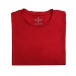 Camiseta Ultra Slim Curta Vermelho - Algodão Egípcio