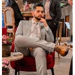 Sapato Social Wholecut Chivas Café