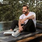 Tênis Masculino Sneaker Lud Gamo - Cinza