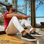 Tênis Masculino Sneaker Lud Gamo - Preto