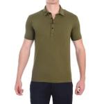 Camisa Polo Verde - Algodão Egípcio