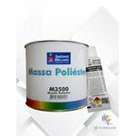 MASSA POLIÉSTER M3500 LAZZURIL 1,5KG
