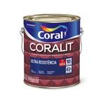 CORALIT ESMALTE BRILHANTE MARROM 3,6L