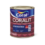 CORALIT ESMALTE FOSCO BRANCO 900ML