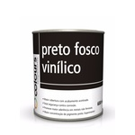 PRETO FOSCO VINÍLICO SEM CATALIZADOR MAXI RUBBER 600ML