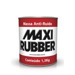 MASSA ANTI-RUÍDO MAXI RUBBER 1,3KG