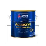 AQUACRYL ACRILICO FOSCO BRANCO SUPER PREMIUM 3,6L