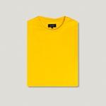 Camiseta Amarelo Ouro Comfort 100% Algodão