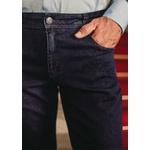 Calça Jeans Masculina Slim Comfort Azul Escuro