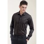 Camisa Social Lisa Preto Comfort