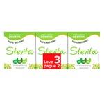 Adoçante Natural Stevia Sache Leve 3 Pague 2 50x0,6g
