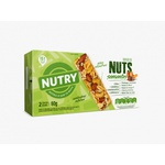 Barra Nuts Sementes: Quinoa , Chia , Linhaça e Amaranto 2x30g