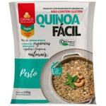 Quinoa Fácil Pesto De Manjericão Orgânica 100g