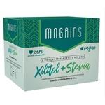 Adoçante em Pó Magrins Xilitol+Stevia c/50 Envelopes 0,6g