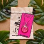 Colar Mandala Rosa M3 - Autoestima e Amor