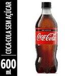 Refrigerante Coca Cola Zero600ml